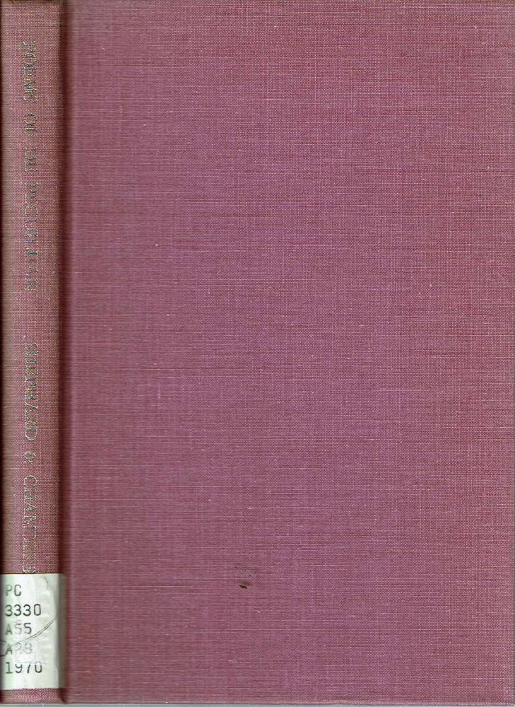 The Poems of Aimeric de Peguilhan. Aimeric de Peguilhan, edited and translated, William P. Shepard, Frank M. Chambers, edited, translated, introduction.