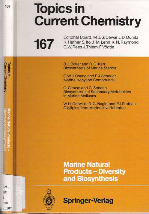 Marine Natural Products - Diversity and Biosynthesis. Paul J. Scheuer.