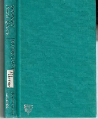 Spenser's Faerie Queene : A Critical Commentary on Books I and II. Douglas Brooks-Davies