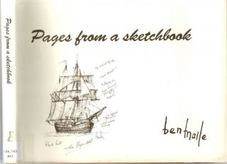 Pages from a sketchbook : A collection of preparatory sketches and working drawings from Ben...