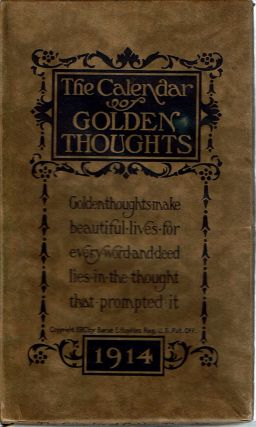 The Calendar of Golden Thoughts - 1914