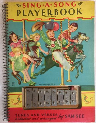 Sing-A-Song Playerbook [With 8 Note Xylophone Included]. tunes