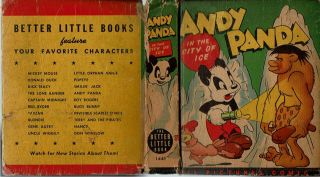 Andy Panda in the City of Ice : From the Famous Motion Picture Cartoon : All Pictures Comics....