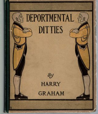 "Deportmental Ditties. Jocelyn Henry Clive ""Harry"" Graham"