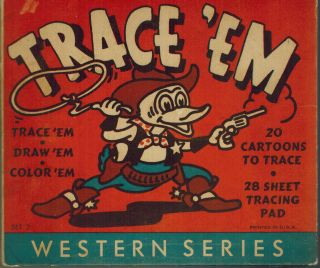 Trace 'Em : Western Series Set 2. Tracies
