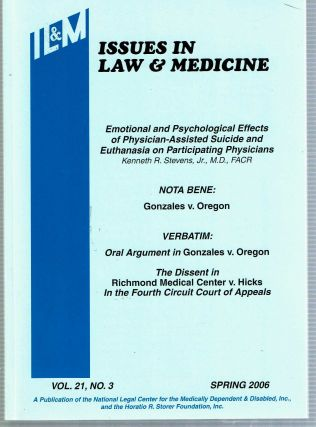 Emotional and Psychological Effects of Physician-Assisted Suicide and Euthanasia on Participating...