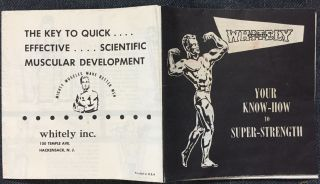 Your Know-How to Super-Strength / The Key to Quick Effective Scientific Muscular Development....