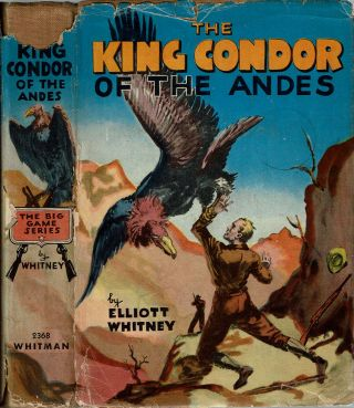 The King Condor of the Andes. Elliott Whitney