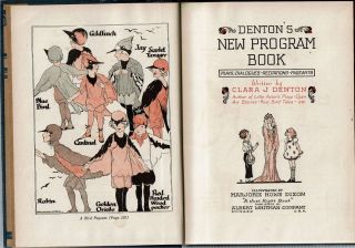 Denton's New Program Book : Plays - Dialogues - Recitations - Pageants