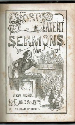 Short Patent Sermons : Volume 1