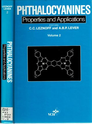 Phthalocyanines : Properties and Applications : Volume 2. C. C. Leznoff, A B. P. Lever