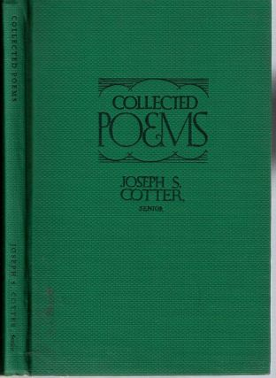 Collected Poems. Joseph Seamon Cotter, Senior