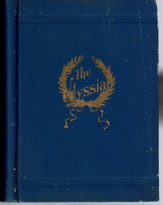 The Ulyssiad : An American Epic. Eliza Madelina Wilbur Souvielle