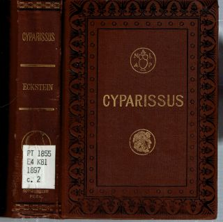 Cyparissus : A romance of the isles of Greece. Ernst Eckstein, Mary J. Safford