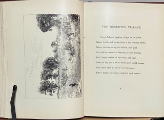 The Deserted Village : A Poem Written by Oliver Goldsmith and Illustrated by Edwin A Abbey RA
