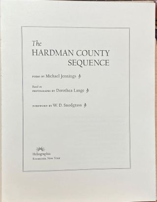The Hardman County Sequence