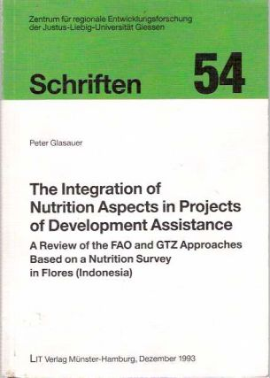 Integration of Nutrition Aspects in Projects of Development Assistance A Review of the FAO and...