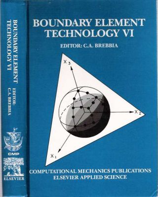 Boundary Element Technology VI. Carlos Alberto Brebbia
