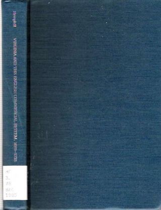 Virginia and the English Commercial System 1689-1733 : Studies in the development and...