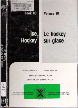 Ice Hockey = Le hockey sur glace Research, development, and new concepts = incidences de la...