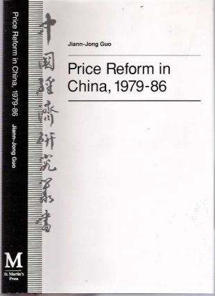 Price Reform in China 1979-86. Jiann-Jong Guo