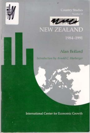New Zealand : Economic Reforms, 1984-1991. Alan Bollard