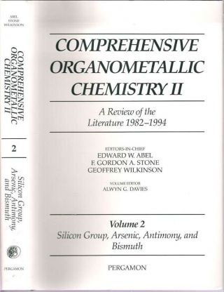 Comprehensive Organometallic Chemistry II Volume 2 Silicon Group, Arsenic, Antimony and Bismuth. Alwyn G. Davies.