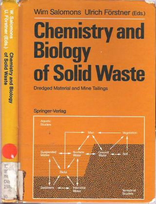 Chemistry and Biology of Solid Waste : Dredged Material and Mine Tailings. Wim Salomons, Ulrich Förstner.