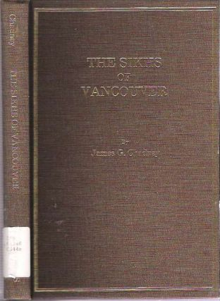 Sikhs of Vancouver. James G. Chadney