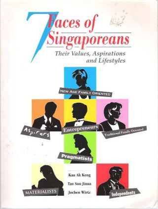 Seven Faces of Singaporeans : Their Values, Aspirations and Lifestyles. Tan Soo Jiuan Kau Ah...