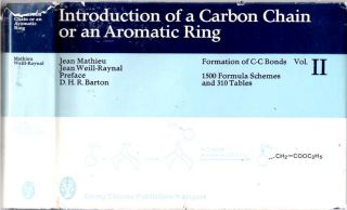Introduction of a Carbon Chain or an Aromatic Ring : 1500 Formula Schemes and 310 Tables. Jean...