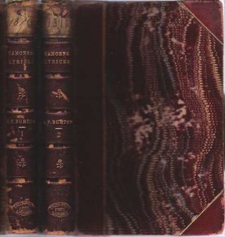Camoens : The Lyricks [2 volume set] : Parts I-II : Sonnets, Canzons, Odes, and Sextines....