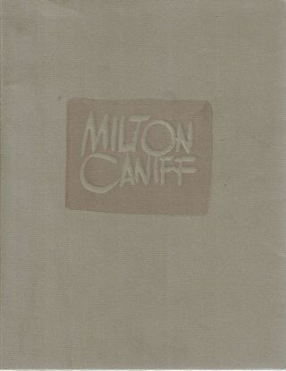 "Milton Caniff and ""Now in My Day"" : a keepsake printed for the centenary of his birth, with an..."