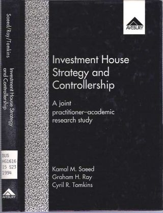 Investment House Strategy and Controllership : The Management of Portfolios Delegated to...